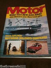 MOTOR MAGAZINE - AUDI AVANT - DEC 17 1977