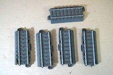 MARKLIN MäRKLIN 24071 C TRACK STRAIGHT RAIL 70.8mm LONG x5 for POINT EXTENTION p