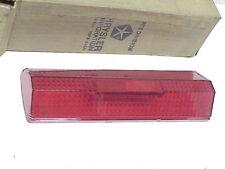 NOS 1968 Chrysler Newport Lh Tail Lamp Lens, Mopar