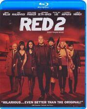 RED 2 (BRUCE WILLIS) *NEW BLU-RAY*