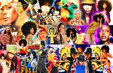 Erykah Badu Collage Poster