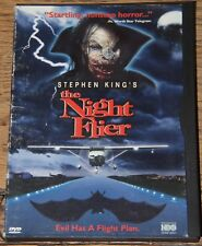 STEPHEN KING'S THE NIGHT FLIER 1997 WITH SUBTITLES RARE OOP R1 DVD SENT FROM UK