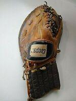 Cooper Vintage hockey leather glove, goalie mitt, collectible, man cave decor