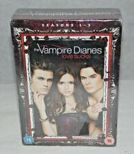 Vampire Diaries Love Sucks Seasons 1 - 3 DVD Box Set New & Sealed Free Post (ZR)