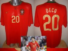 Portugal Deco Nike Shirt Jersey Football Soccer XL Euro 2008 Barcelona Chelsea