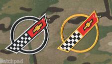 """VETTE CORVETTE RACE TEAM 84-96 Corvette C4 FRONT HOOD NOSE EMBLEM 3.5"""" PATCH X 2"""