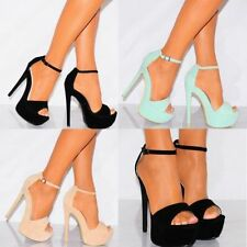 Suede Party Stilettos for Women