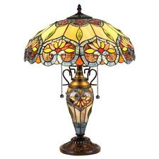Stained Glass Chloe Lighting 3 Light Double Lit Table Lamp CH35502BF16-DT3 New