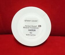 Sheer Cover PERFECT SHADE MINERAL FOUNDATION - TAN - (4g/0.14oz) Sealed New