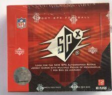 2007 Upper Deck SPX Factory Sealed Football Hobby Box