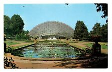 Climatron Geodesic Dome Tropical Display House Postcard St Louis Missouri Water