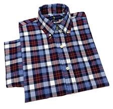 Ralph Lauren Men's Short Sleeve Multi Coloured Check Shirt