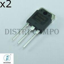 2SA1186 Transistor PNP 150V 10A TOP-3 Inchange (Lot de 2)