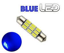 1 Ampoule LED BLEU navette Anti erreur  C10W 41 mm 41mm Eclairage Plafonnier