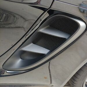 Porsche Cayman Boxster 718 (All) Side Vent Intake Grill Set 2017-2019
