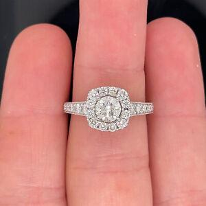Neil Lane 14k White Gold Engagement Ring 1 -1/6Ctw $4499