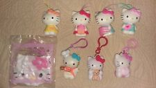 Hello Kitty Figures 4 Back Pack Clips 4 Party Ornaments