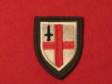 BRITISH ARMY LONDON REGIMENT TRF PATCH BADGE sew on