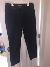 Chico's Platinum Cotton Poly Stretch Jeans Size 0.5 Or Ladies 6