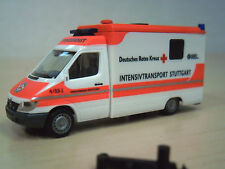 "Herpa - MB Sprinter RTW ""DRK Intensivtransport Stuttgart"" - Nr. 047050 - 1:87"