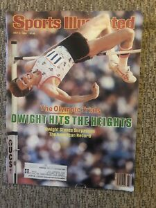 Sports Illustrated - July 2, 1984 - DWIGHT STONES - The Olympic Trials