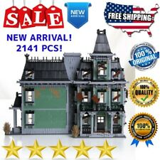 Building Blocks Movie Ghostbusters 16007 Haunted House Bricks Set Monsters Model