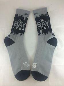 "Bay Area ""Raider Nation"" socks (Men's, XS, Blk)"