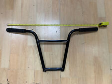 MAFIA 4pcs. ROLLA Bars, XL BMX Handlebars Black with Lucky 6 Grips