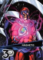 MAGNETO / Marvel 3D (Upper Deck 2015) BASE Trading Card #38