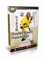 ShaoLin Kongfu Chinese Peculiar Weapon Double Hands Nunchakus by Shi Debiao DVD