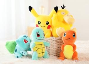 Pikachu,Cute Pokemon Collectible Plush Pikachu Soft Toy Stuffed Doll Teddy Kids