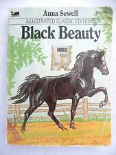 Black Beauty by Anna Sewell Illustrated Classic Editions (1977 Paperback)