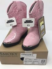 Smoky Mountain Boots Children Mesquite Boots Size 5.5 Big Kids NIB
