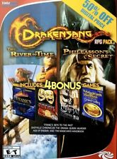 Drakensang RPG Pack River of Time Phileassons Secret & 4 Bonus PC NO CASE NO ART