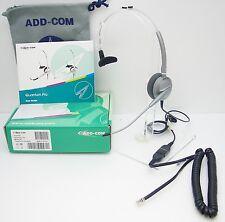 ADD100-04 Headset for Avaya 1608 1616 9620 9630 Cisco 7906 7910 SNOM 720 760 820