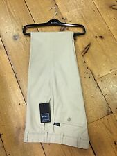 Bruhl Soft Peachcloth Cotton MONTANA Trousers/Stone - 44/30 SALE