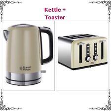 RUSSELL HOBBS Windsor Cream Kettle & Toaster - New