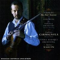 GIULIANO CARMIGNOLA/VBO - VIVALDI: QUATTRO STAGIONI AND THREE CONCERTOS  CD NEW!