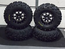 "27"" BEAR CLAW ATV TIRE & STI HD4 WHEEL KIT LIFETIME WARRANTY COMPLETE IRS1CA"