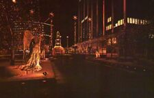 Constitution Plaza Holiday Lighting Hartford Connecticut CT Christmas - Postcard