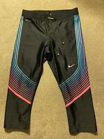Women's Nike Dri Fit Running Capri Filament Speed Tights Small S