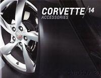 2014 Chevy Corvette Accessories brochure