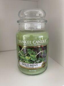 Yankee Candle Wild Mint 623g 2018