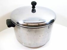 FARBERWARE Stock Pot Dutch Oven Lid 8 quart Aluminum Clad Stainless Steel QC NYC