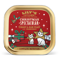 Lily's Kitchen Christmas Turkey & Ham Feast Cat Wet Food | Cats