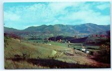 Hazelwood and Waynesville great smoky mountains North Carolina NC Postcard B27