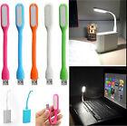 Flexible Bright Mini USB LED Light Computer Lamp for Notebook PC Laptop Reading