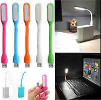 Mini Flexible Portable LED USB Light Lamp For Notebook PC Laptop Reading Camping