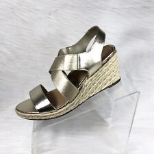 aa1791ba8330 Vionic Ainsleigh Women's Wedge Sandals Espadrilles Champagne Size 9.5 M
