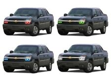 for Chevrolet Avalanche 03-06 RGB Multi Color LED Halo kit for Headlights